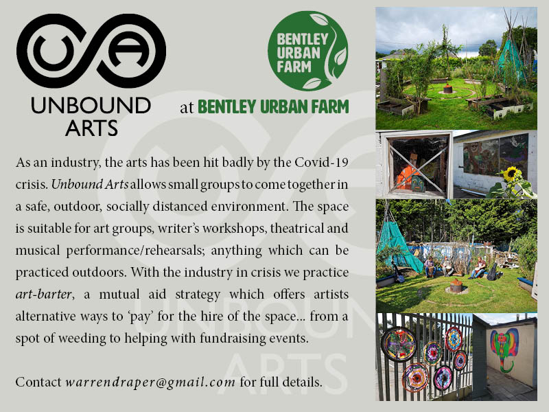 Unbound Arts e-flyer